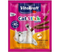 Vitakraft Cat-Stick mini kalkoen en lam