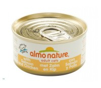 Almo Nature Adult Zalm & Kip